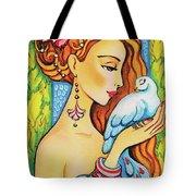 Dove Fairy Tote Bag