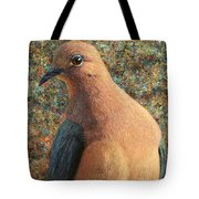 Dove Tote Bag by James W Johnson