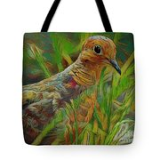 Dove Painterly Tote Bag