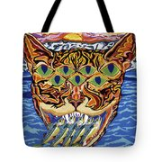 Dover Cat Tote Bag