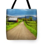 Down A Country Lane Tote Bag