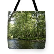 Down Beside Where The Waters Flow Tote Bag