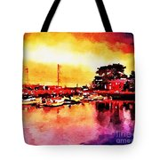Down By Dock 2 Tote Bag