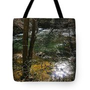 Down By The Creek Tote Bag