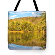 Down By The Lake Tote Bag