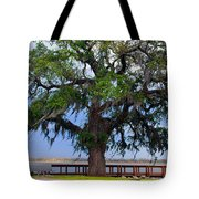 Down By The River Side Tote Bag