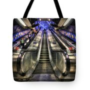 Down From A Cloud. Up From The Underground. Tote Bag