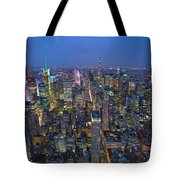Down In The City  Tote Bag
