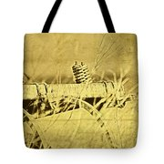 Down On The Farm Tote Bag by Tom Mc Nemar