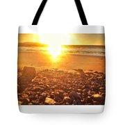 Down The Beach #beach Tote Bag