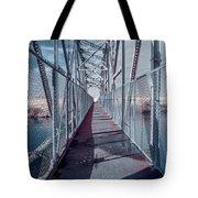 Down The Bridge Tote Bag