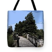 Down The Bridge Tote Bag