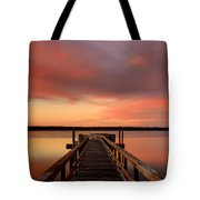 Down The Dock Tote Bag