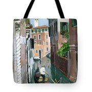 Down The Green Water Tote Bag
