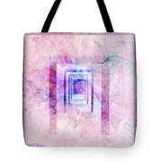 Down The Hall Tote Bag