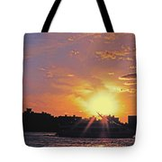 Down The Hudson Tote Bag