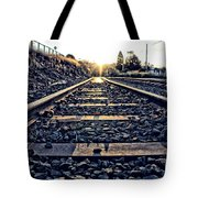 Down The Line Tote Bag