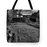 Down The Rail Tote Bag