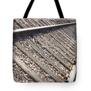 Down The Railroad Tote Bag
