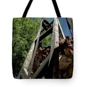 Down The Shaft II Tote Bag