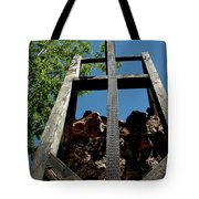 Down The Shaft Virginia City Nv Tote Bag