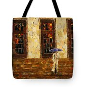 Down The Steps Tote Bag