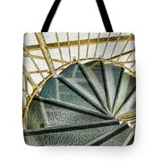 Down The Upstairs Tote Bag