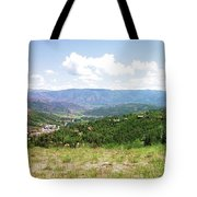 Down The Valley At Snowmass #2 Tote Bag