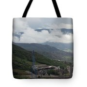 Down The Valley At Snowmass #3 Tote Bag