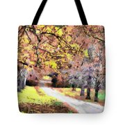 Down The Way Tote Bag