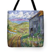 Down To The Fjord Tote Bag