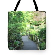 Down To The Garden Tote Bag