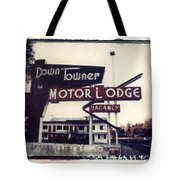 Down Towner Tote Bag