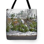 Down Trees Tote Bag