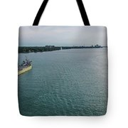 Downbound At Belle Isle Tote Bag