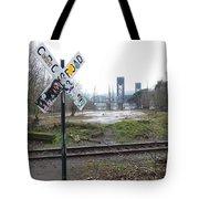 Downbound Train Tote Bag