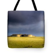 Downhill Demense Hall In Gold Tote Bag