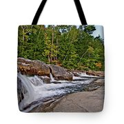 Downhill From Here Tote Bag