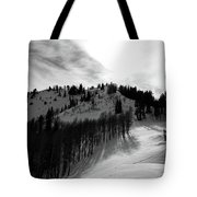 Downhill Tote Bag