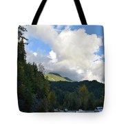 Downhill Road Tote Bag
