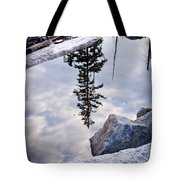 Downside Up Tote Bag