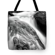 Downstream From Anna Ruby Falls Tote Bag