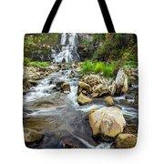 Downstream From Chittenango Falls Tote Bag