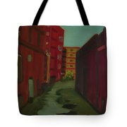Downtown Alley-portland Maine Tote Bag