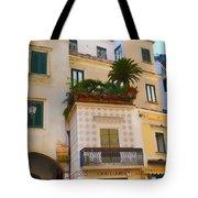 Downtown Amalfi Tote Bag