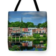 Downtown Augusta, Maine Tote Bag