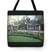 Downtown Beaufort Tote Bag