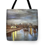 Downtown Bridge Tote Bag