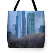 Downtown Chicago Tote Bag