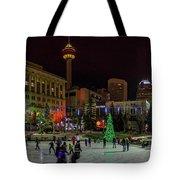 Downtown Christmas Tote Bag
